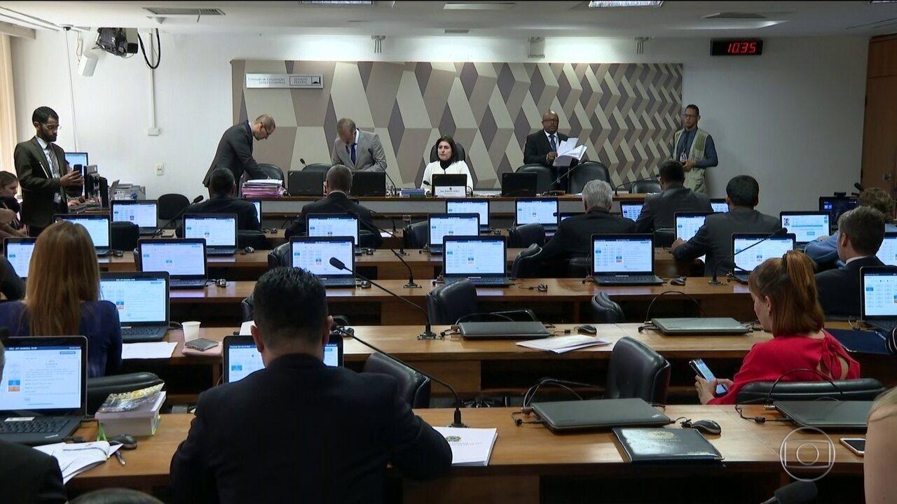 Pacote anticrime de Sergio Moro é apresentado na CCJ do Senado