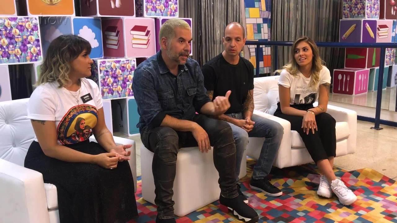 Leandro Hassum e sua família falam sobre suas tatuagens