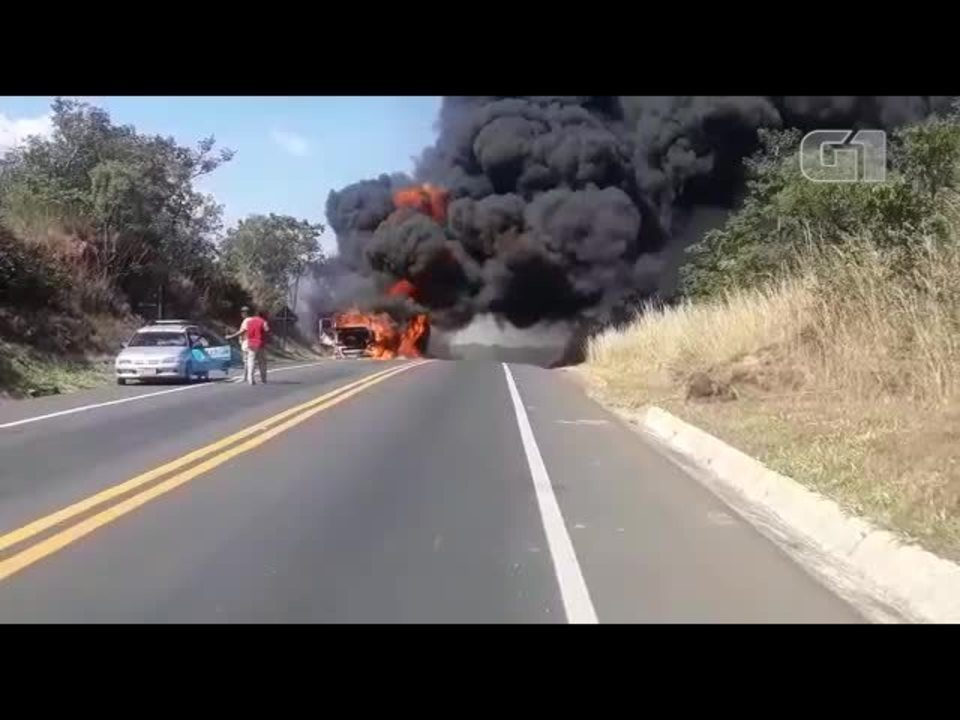 Incêndio BR Norte de Minas