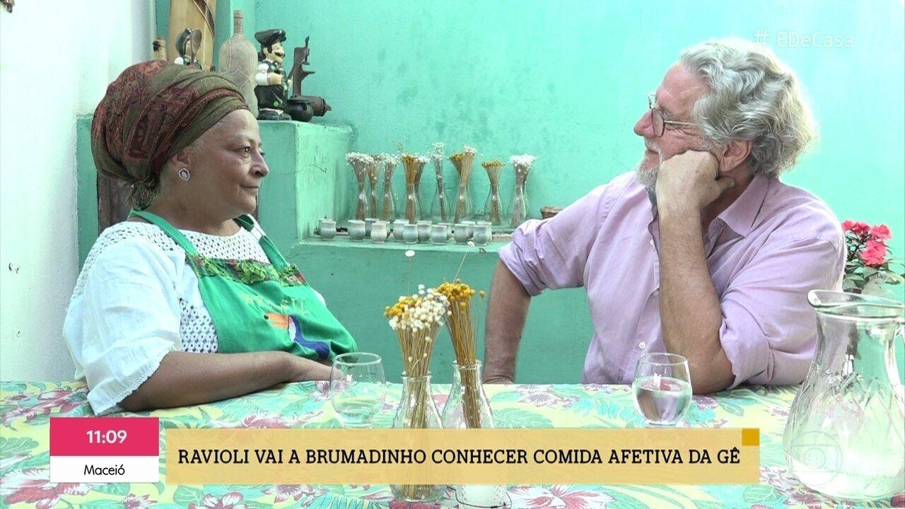 Ravioli vai a Brumadinho conhecer as receitas afetivas da Gê