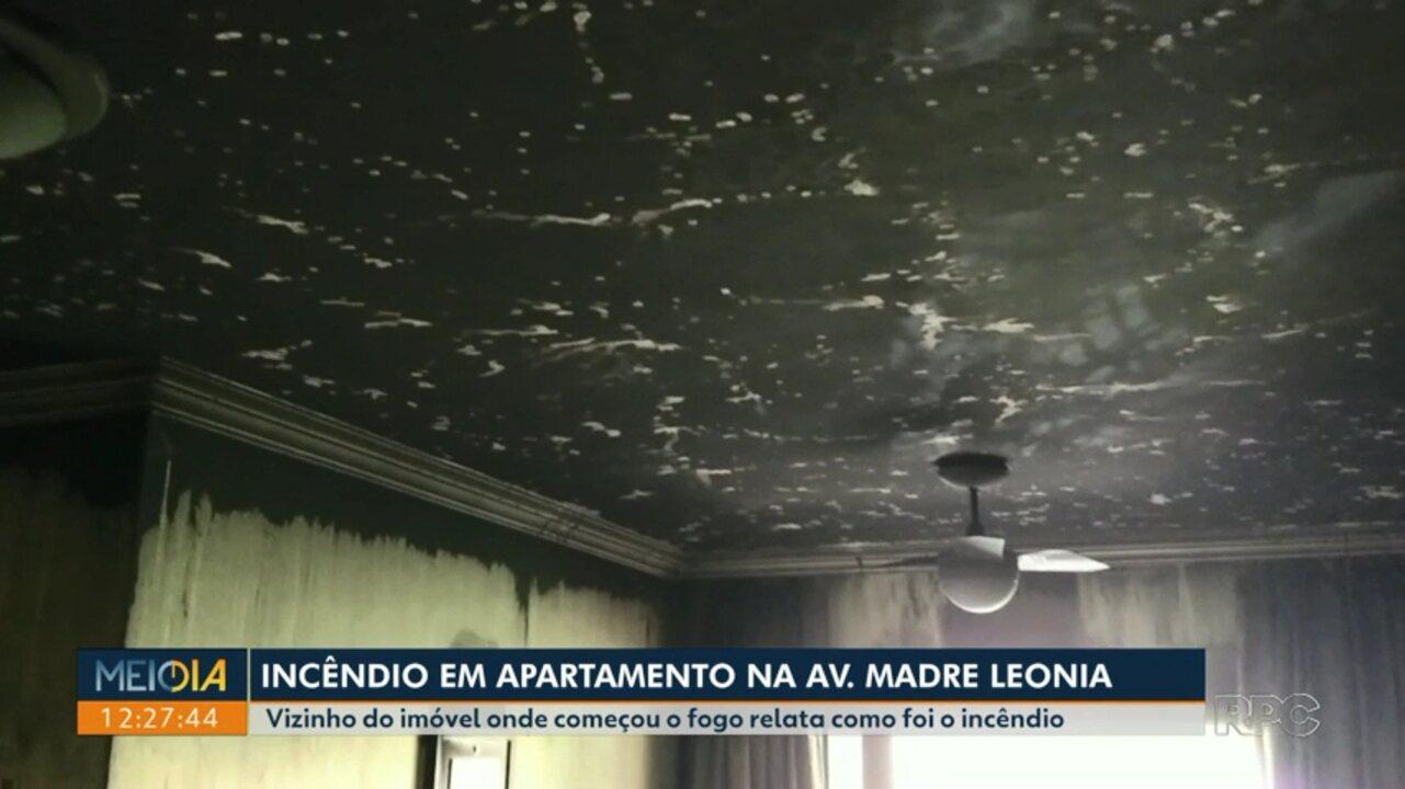 Acidente com lareira portátil provoca incêndio e deixa morador ferido na Gleba Palhano