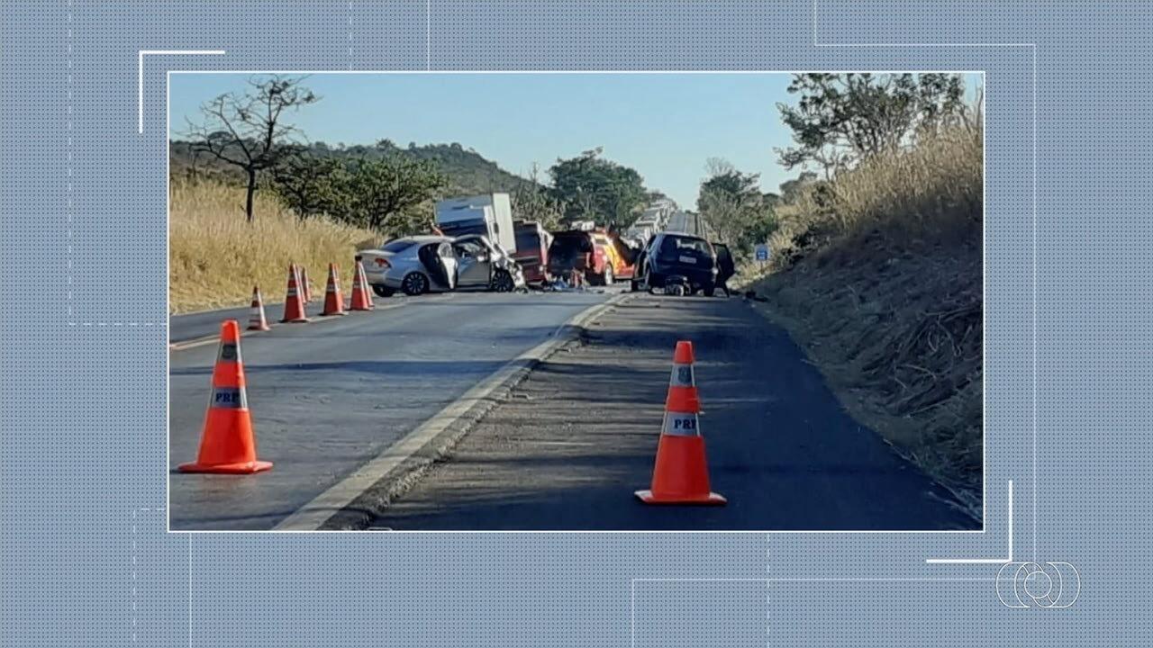 Três pessoas morrem em acidente em Formosa