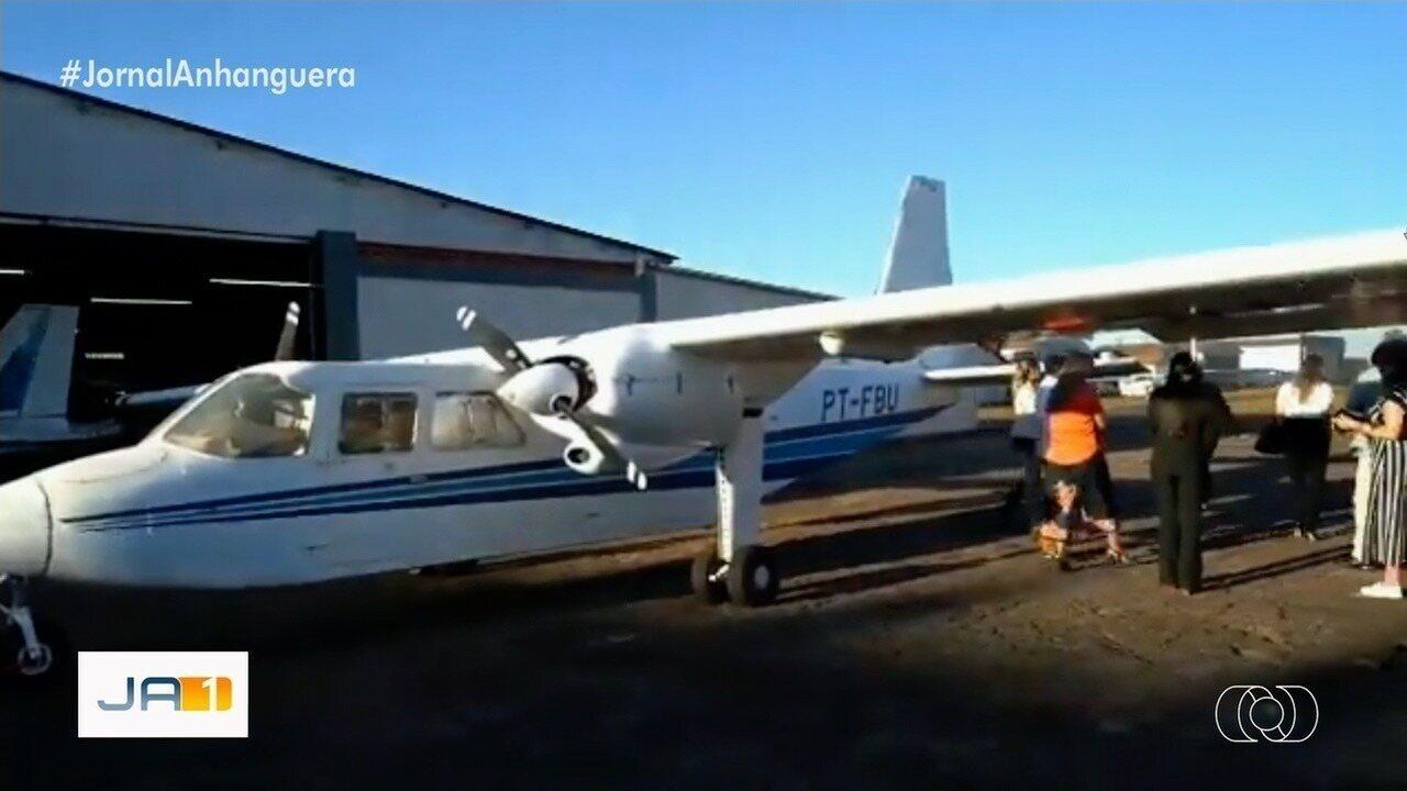 Ministra Damares Alves denuncia sucateamento de 8 aviões da Funai em GO e mais 3 estados