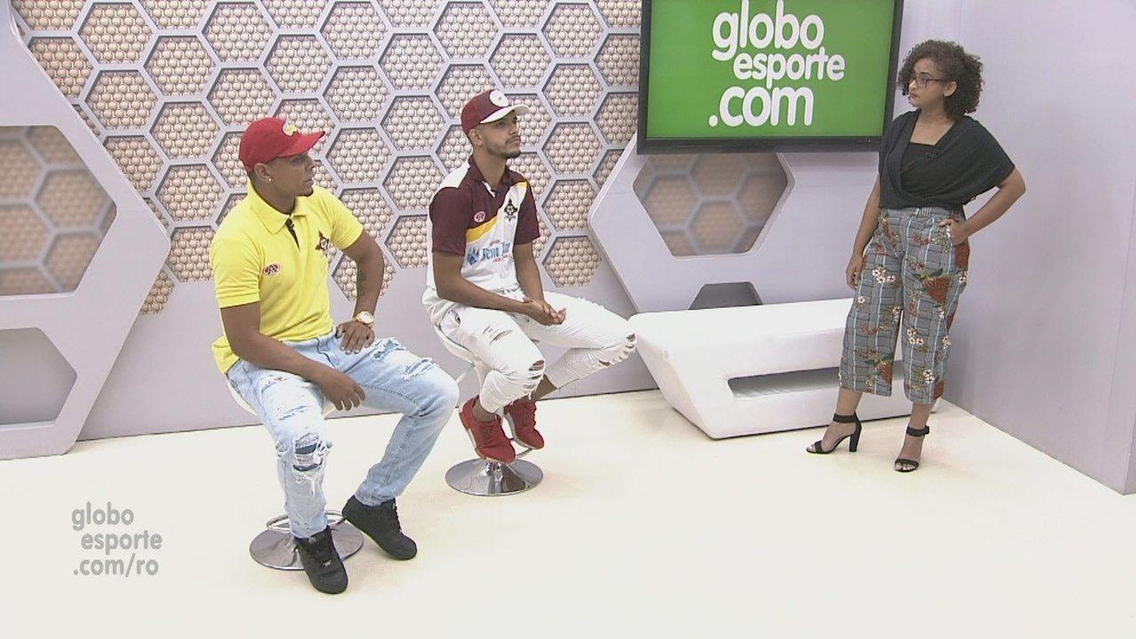 Bate-papo GE: Atacantes do Genus falam de preparação para Copa Verde