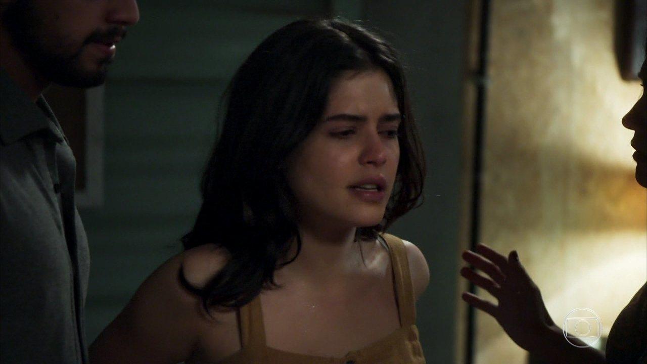 Laila não aguenta e despeja sua fúria em cima de Dalila