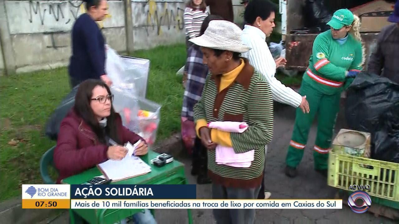 Ação solidária beneficia famílias em Caxias do Sul