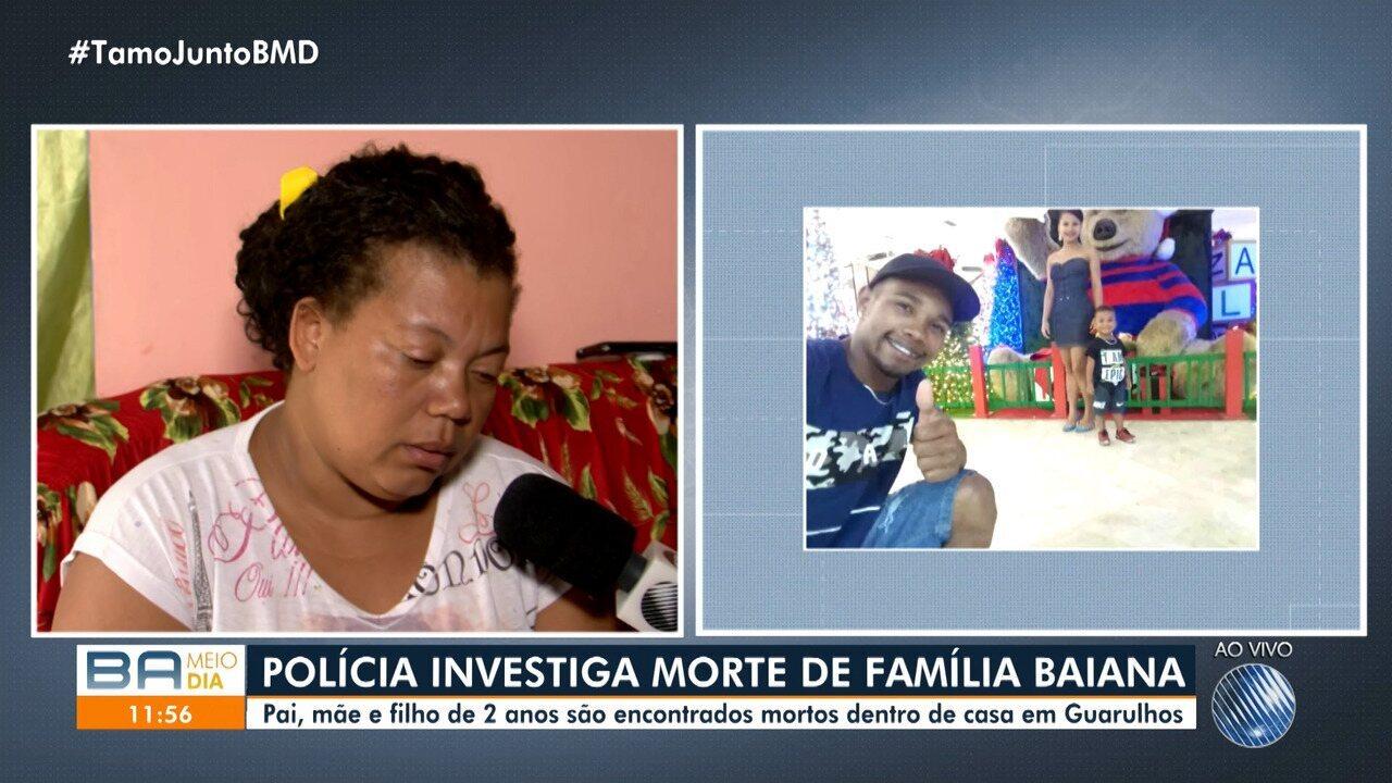 Corpos de baianos encontrados mortos em Guarulhos vão ser enterrados em Ipiaú