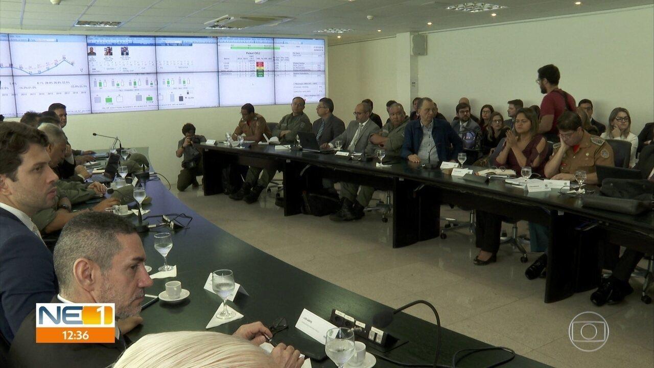 Pernambuco tem 23% a menos de homicídios no primeiro semestre de 2019, diz governo