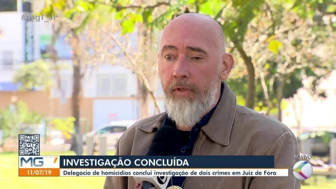 Polícia Civil anuncia prisões e apreensão de envolvidos em dois homicídios em Juiz de Fora