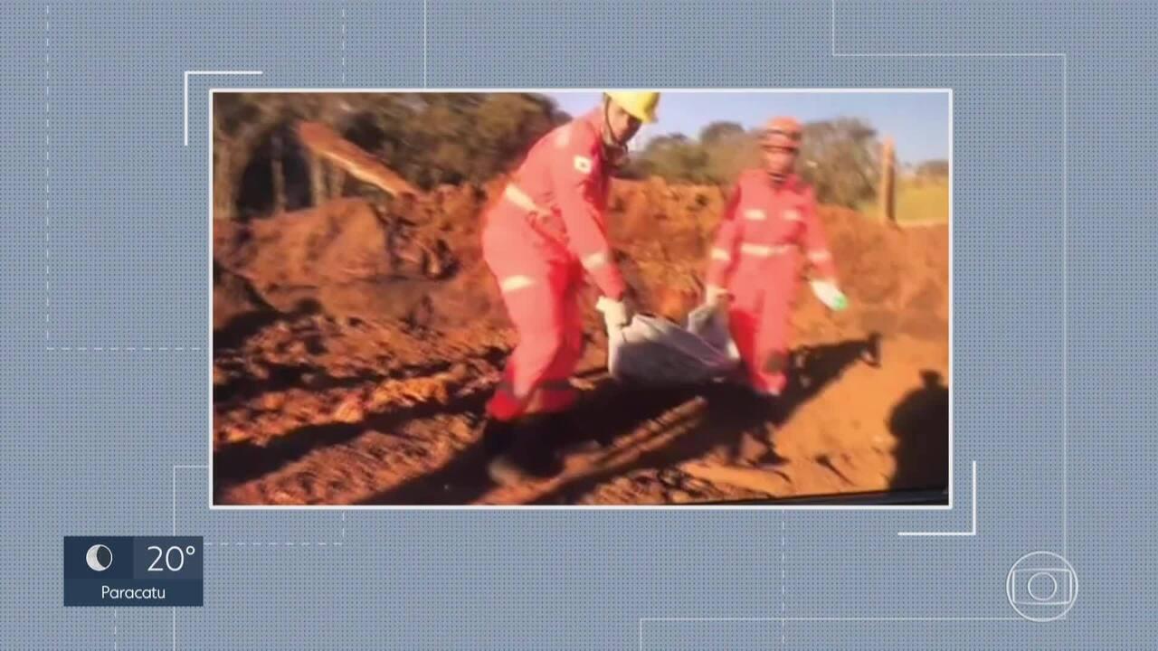 Bombeiros localizam mais um corpo de vítima do desastre da Vale em Brumadinho