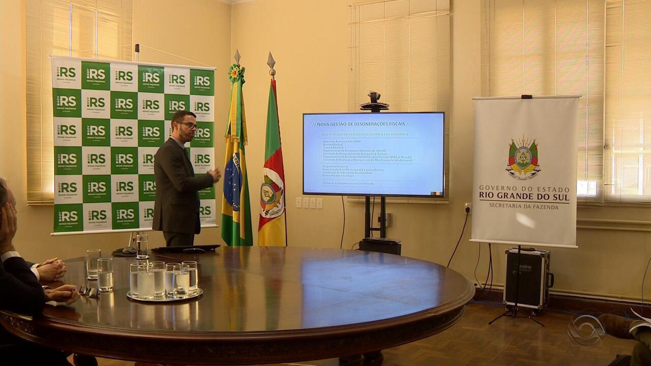 Governo do RS projeta adesão ao regime de recuperação fiscal ainda neste ano