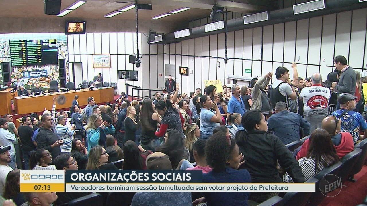 Câmara de Ribeirão Preto deixa de votar projeto para OS administrar creches