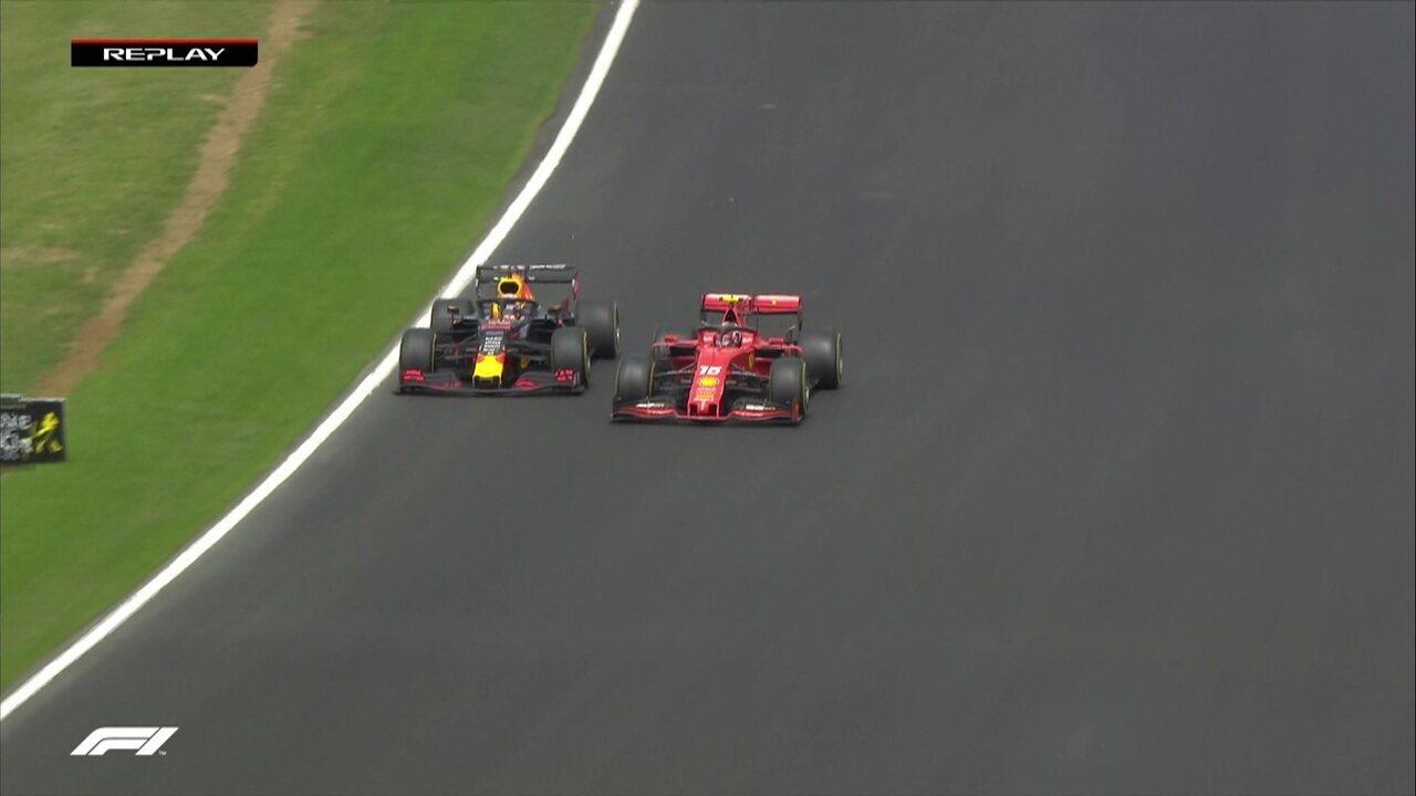 Segue quente a disputa entre Leclerc e Verstappen