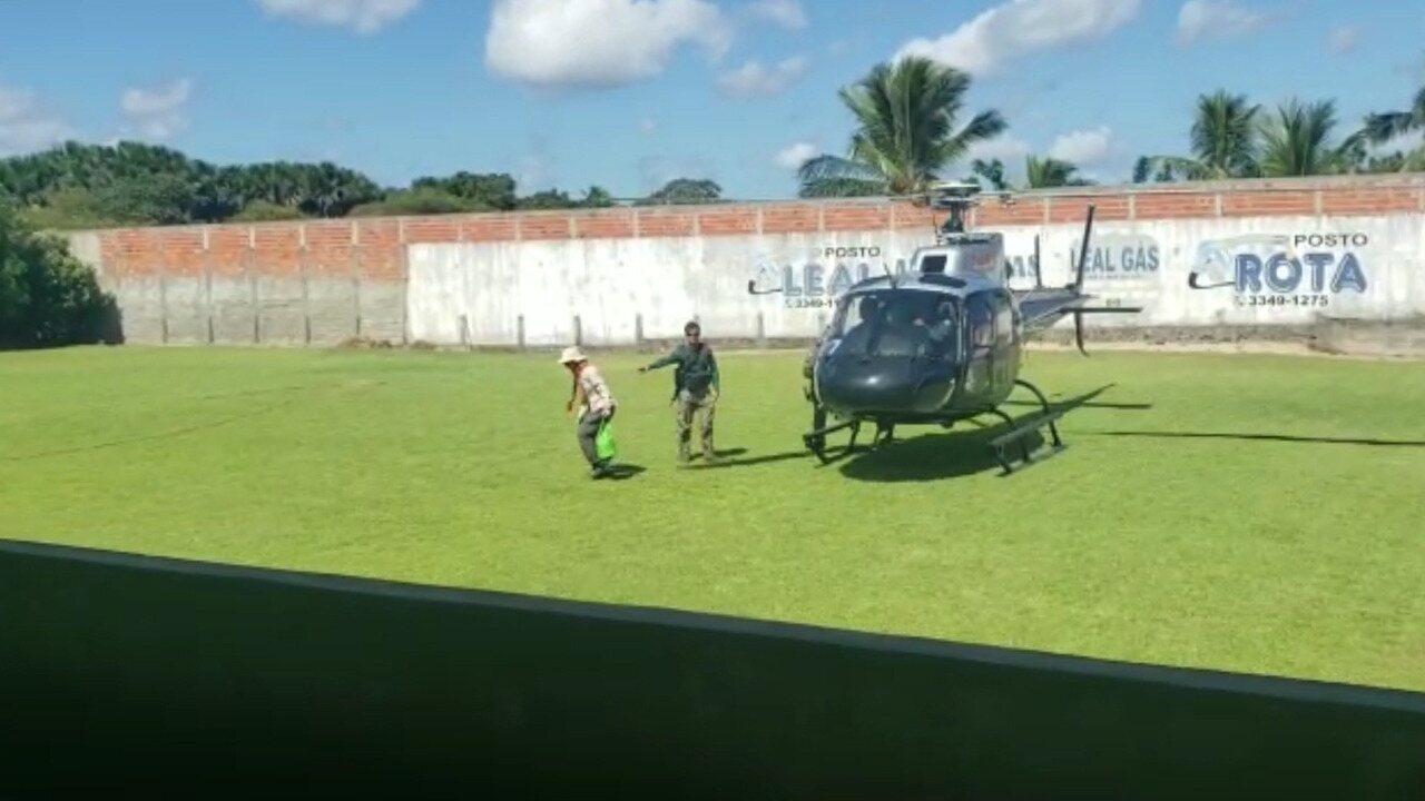 CTA resgata turistas após morte súbita de guia no Maranhão