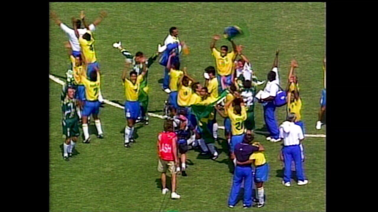É Tetra! série conta a história do título brasileiro na Copa de 1994
