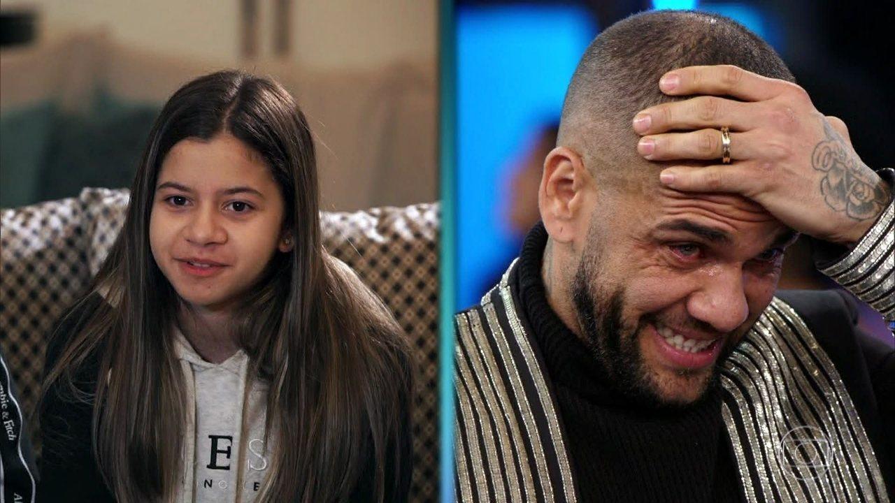 Filhos de Daniel Alves falam sobre o pai no 'Arquivo Confidelcial'