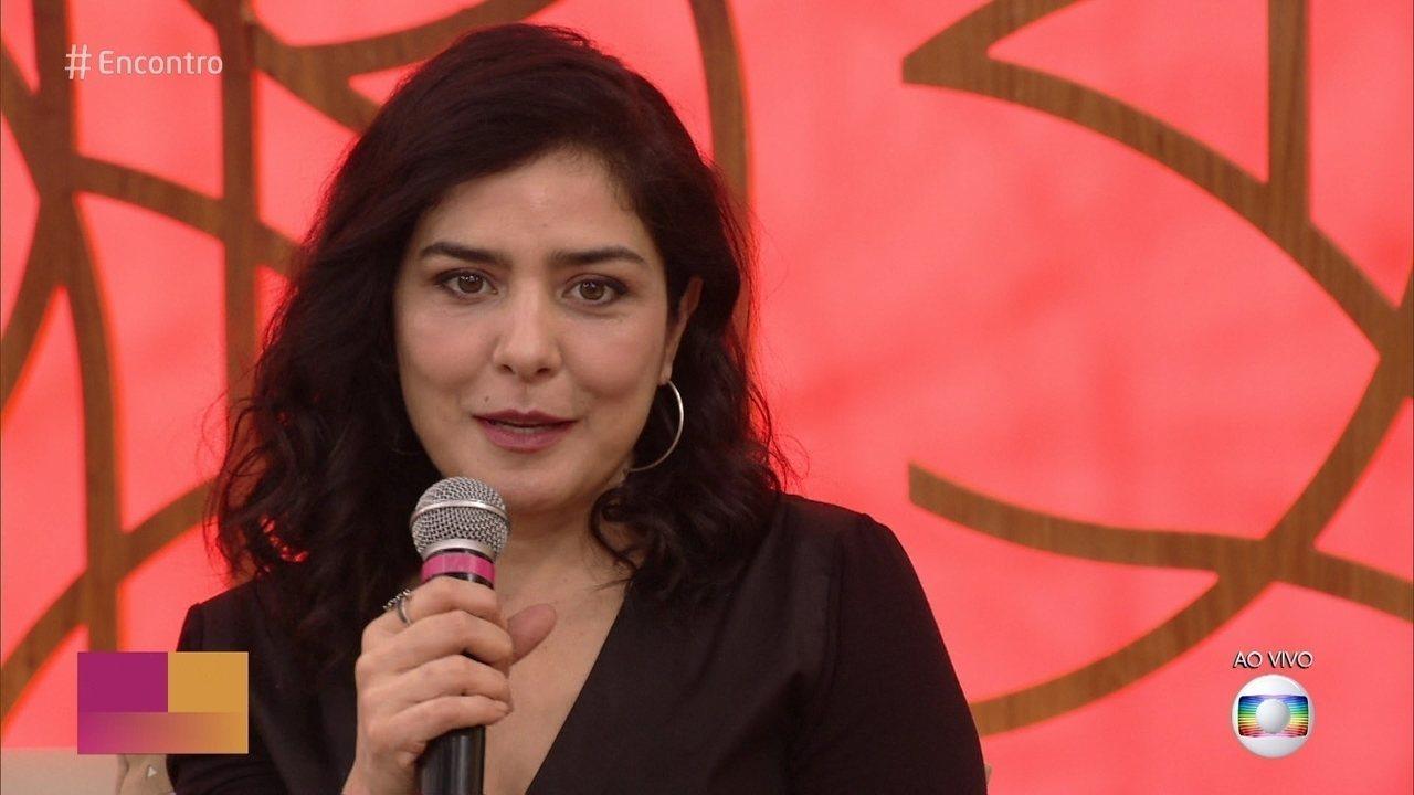 Letícia Sabatella comemora 40 anos de carreira