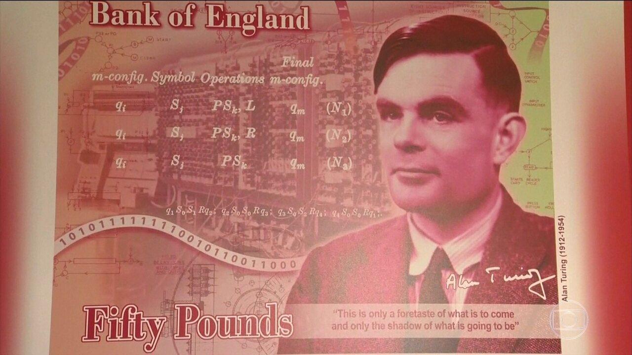 Matemático Alan Turing vai estampar a nota de 50 libras