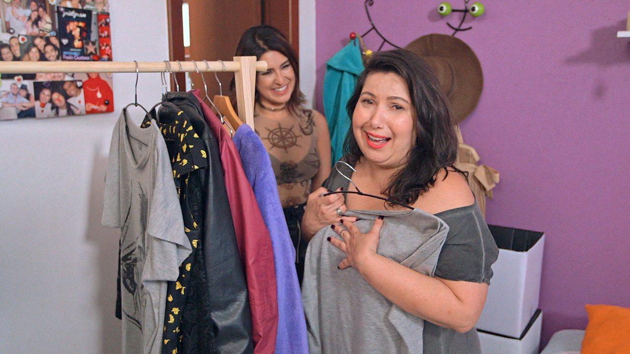 Mariana Xavier - Fernanda Paes Leme visita o closet da atriz Mariana Xavier. Mari é super colorida e adepta de um visual confortável e Fepa vai ajudar a amiga desengavetar.