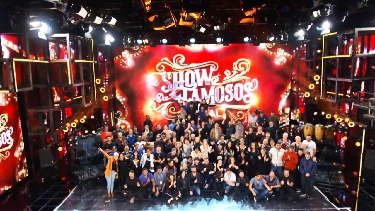 A alma do 'Show dos Famosos'
