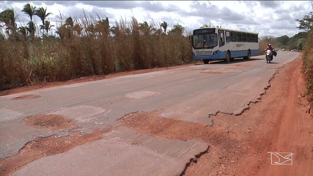 Motoristas reclamam da falta de infraestrutura em trecho da MA-026 em Codó