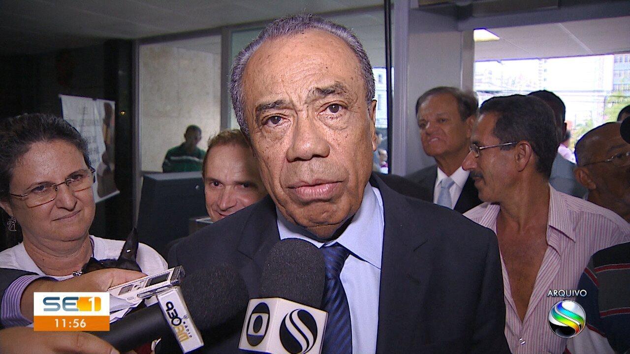 Ex-governador João Alves Filho é internado em UTI