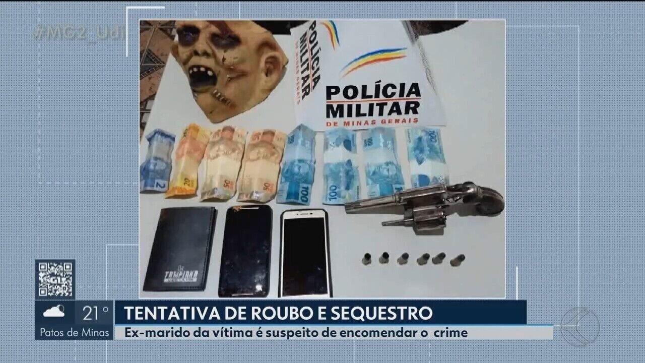Jovem confessa roubo e sequestro de comerciante em Vazante
