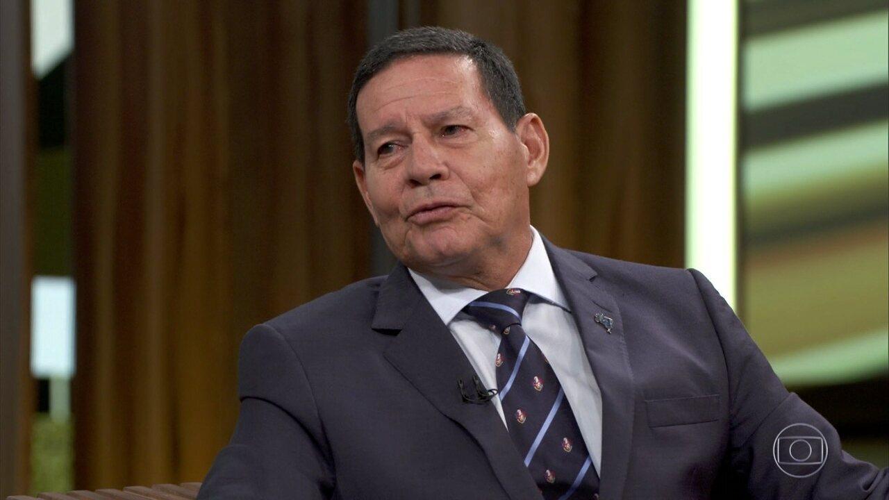 Mourão fala sobre indicação de Eduardo Bolsonaro para a embaixada norte-americana