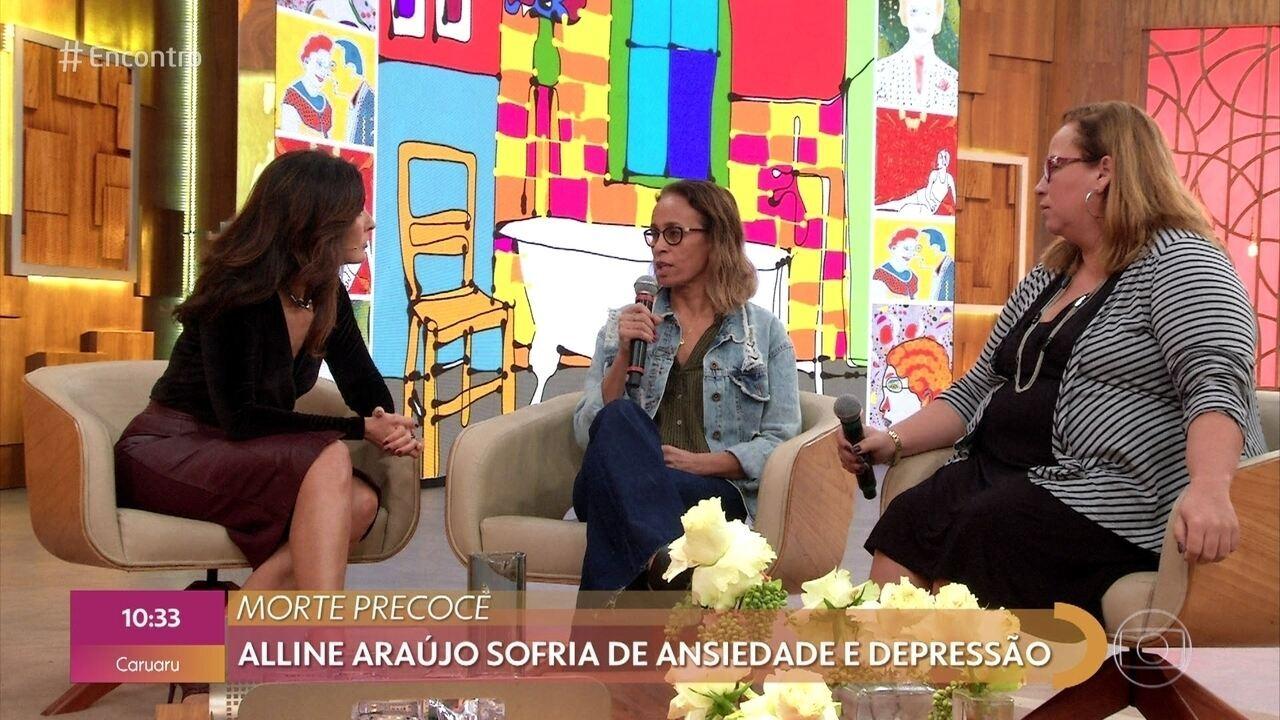 Mãe e tia de Alline Araújo falam sobre a morte precoce da blogueira