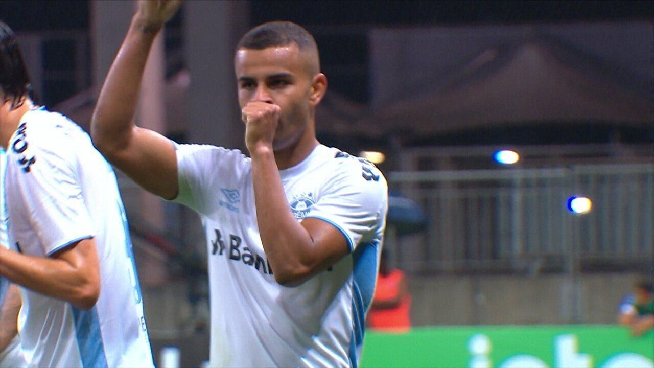 O gol de Bahia 0 x 1 Grêmio pela Copa do Brasil