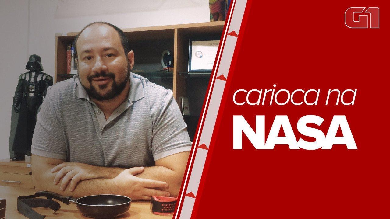 Carioca é convidado pela NASA para evento em homenagem aos 50 anos do homem na Lua
