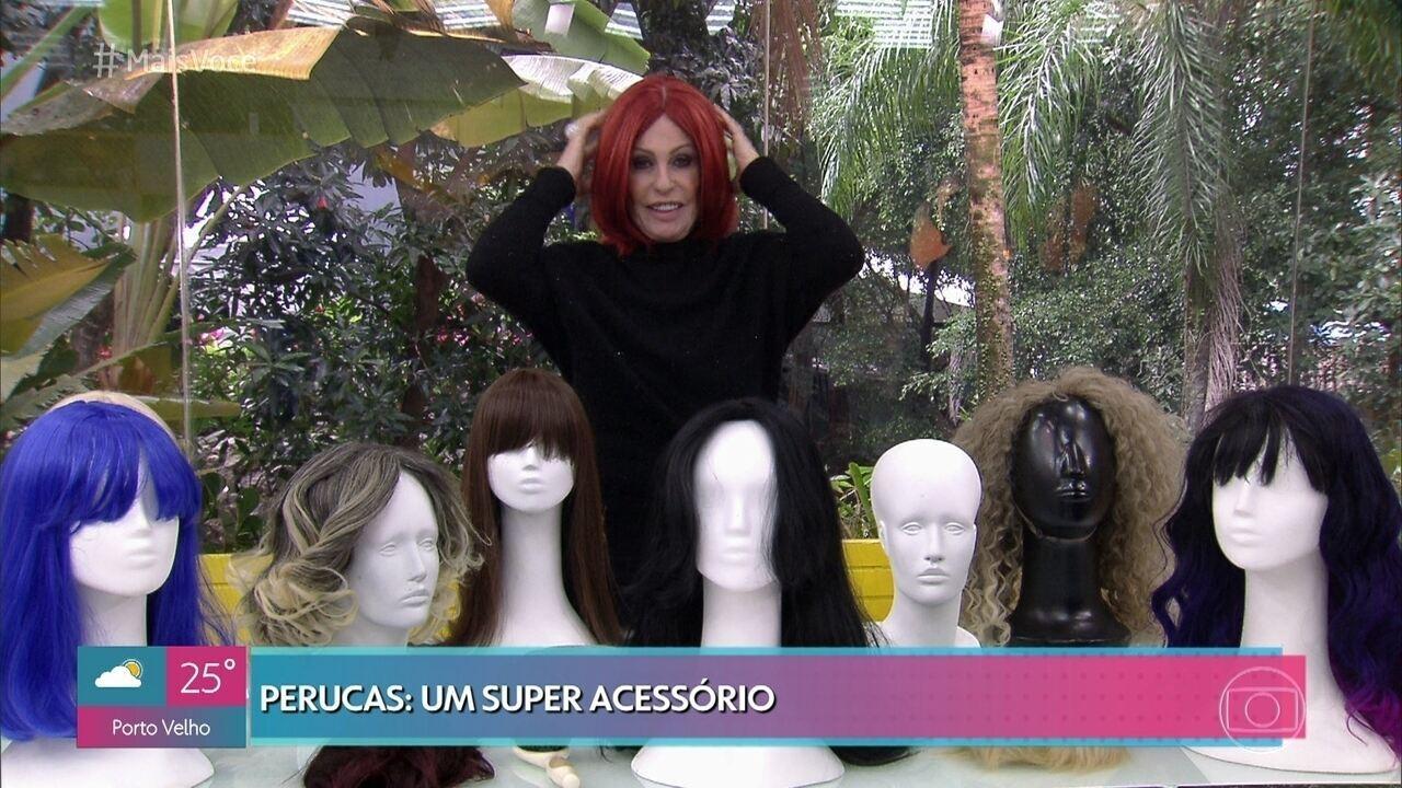 Ana Maria dá dicas para quem quer usar peruca