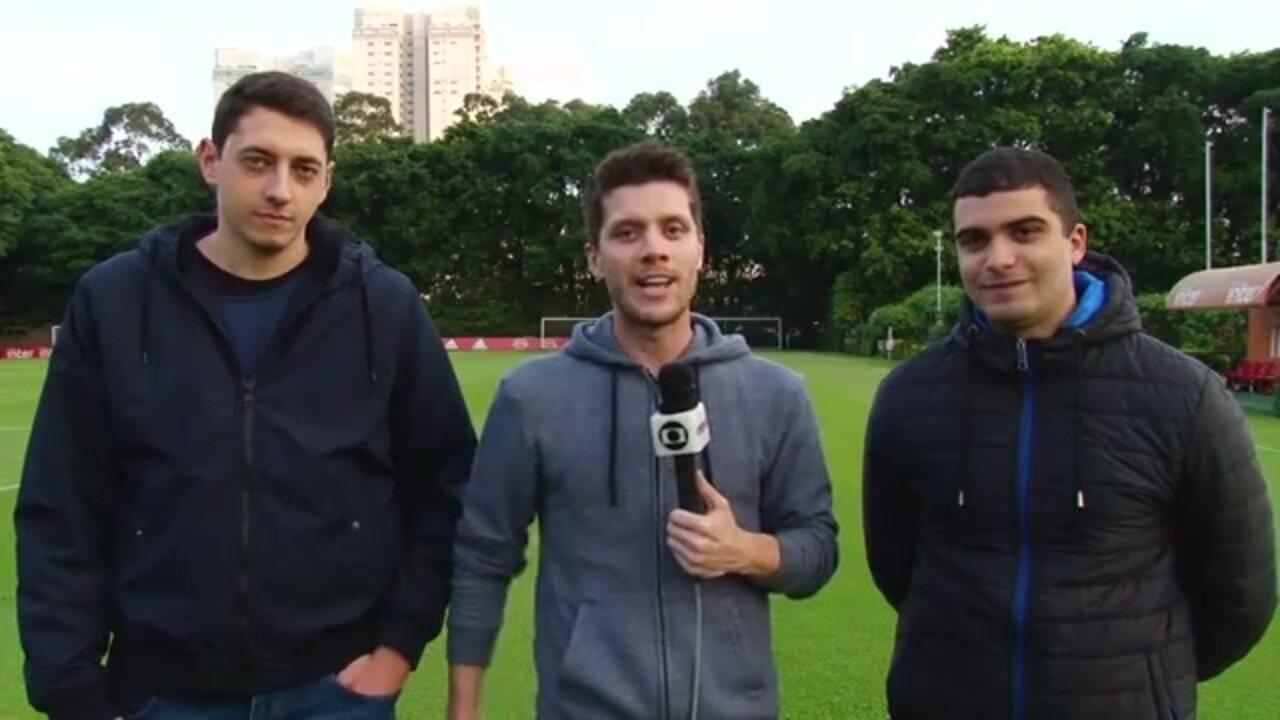 Repórteres falam sobre a preparação do São Paulo para enfrentar a Chapecoense