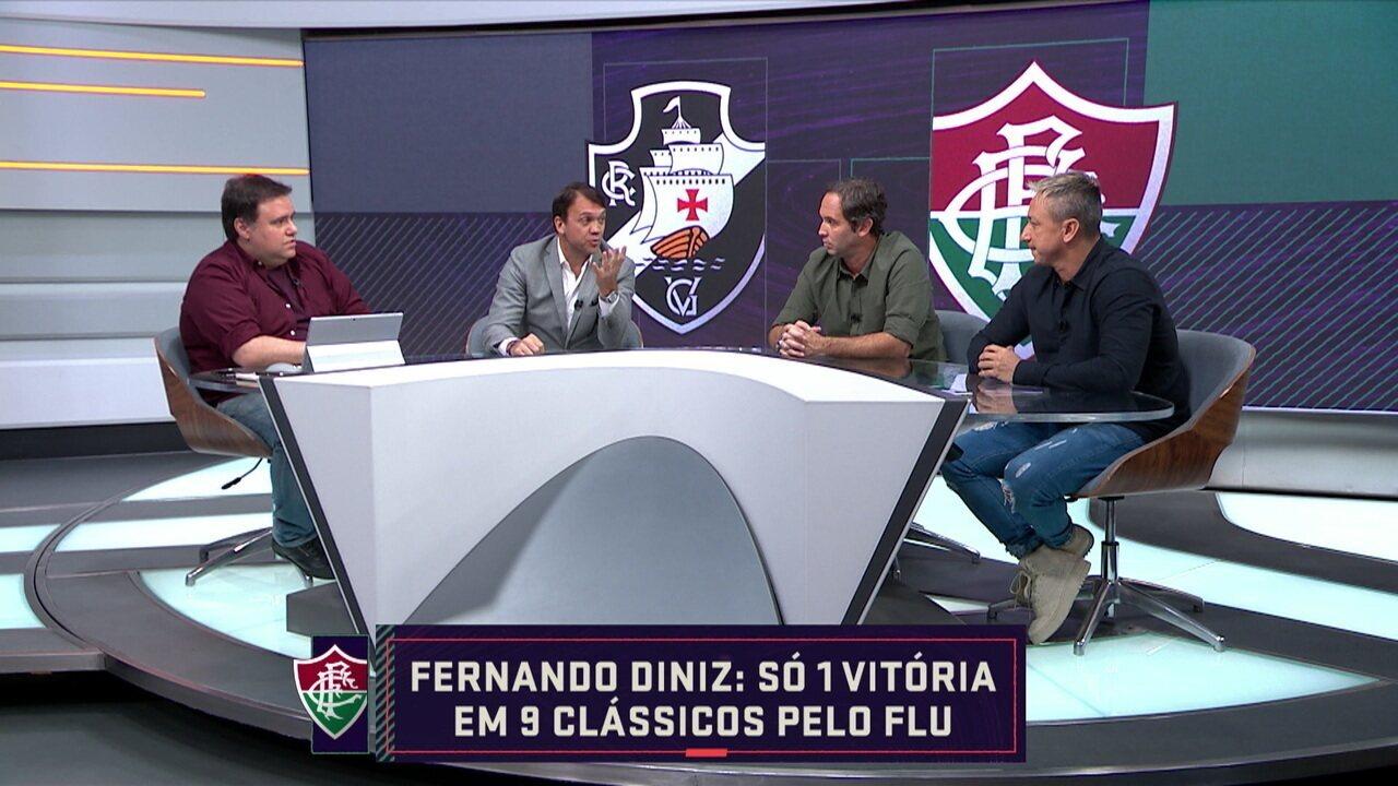 Comentaristas analisam quem é o favorito no clássico entre Vasco e Fluminense que será realizado em São Januário