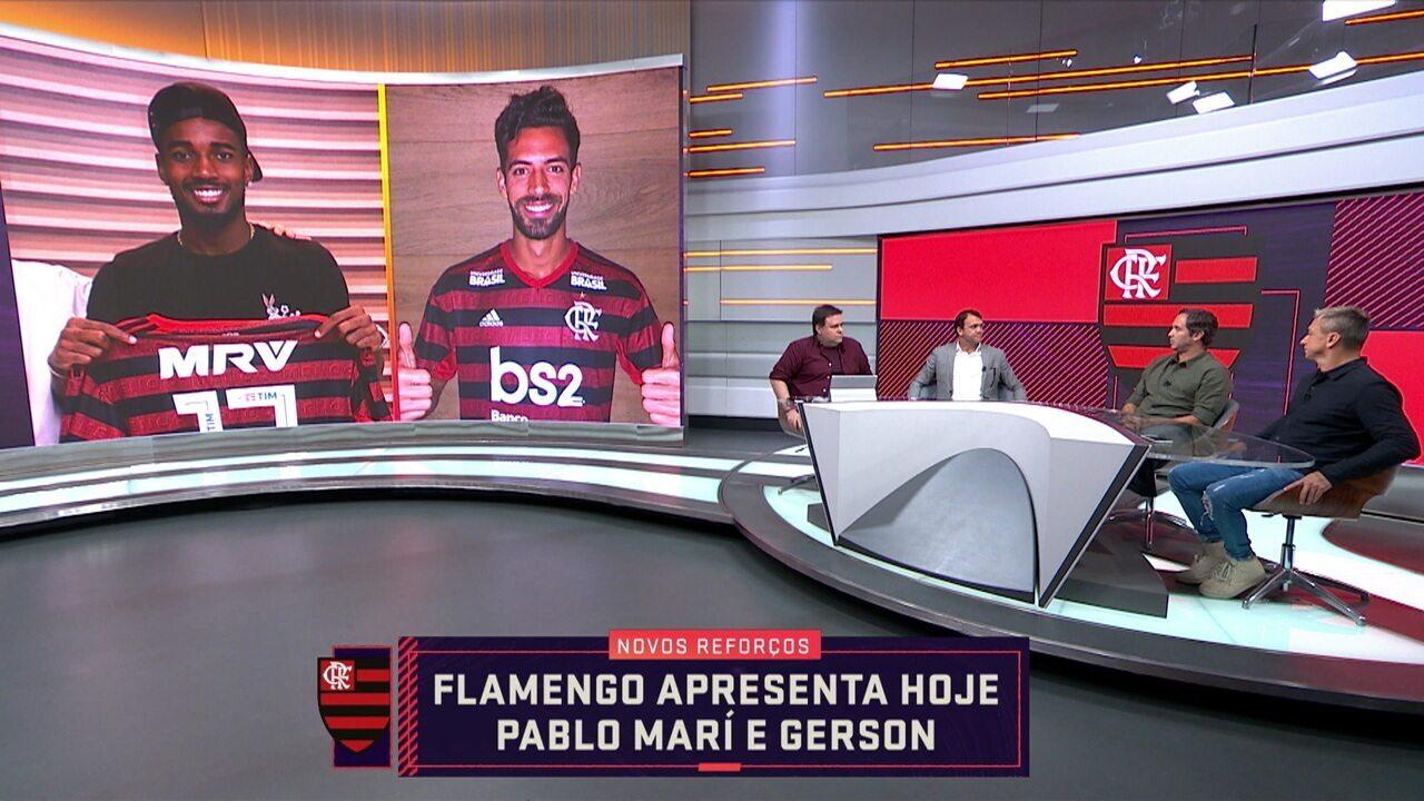 Comentarista Caio Ribeiro fala sobre a contratação do Gerson no Flamengo