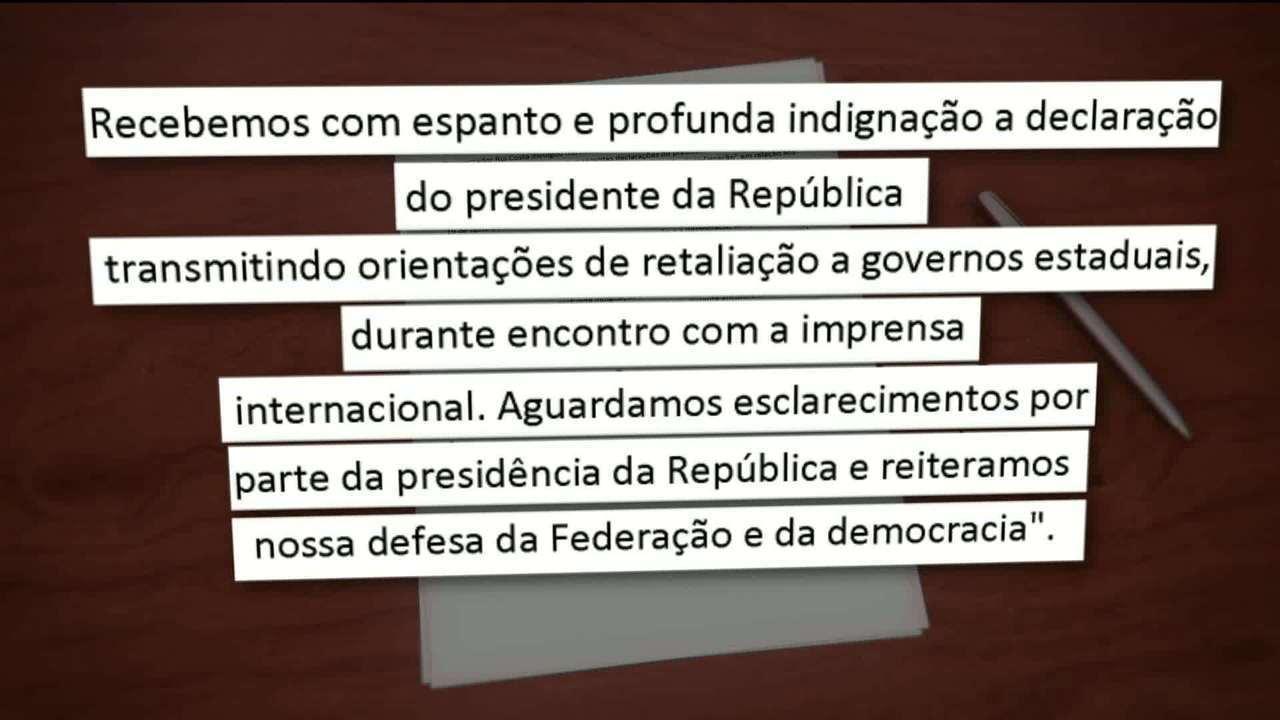 Bolsonaro ataca nordestinos: 'Daqueles governadores de 'paraíba', o pior é o do Maranhão'