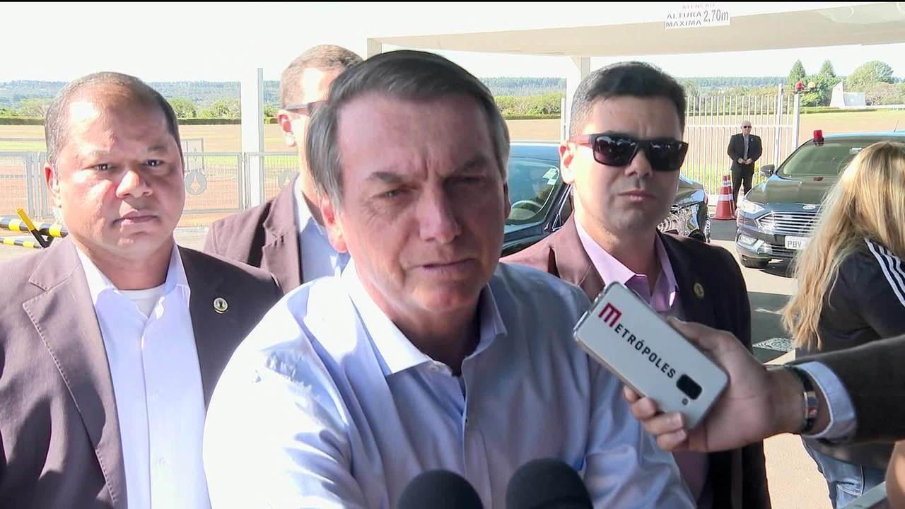 Bolsonaro sobre governadores do Nordeste: 'foi uma crítica de três segundos'