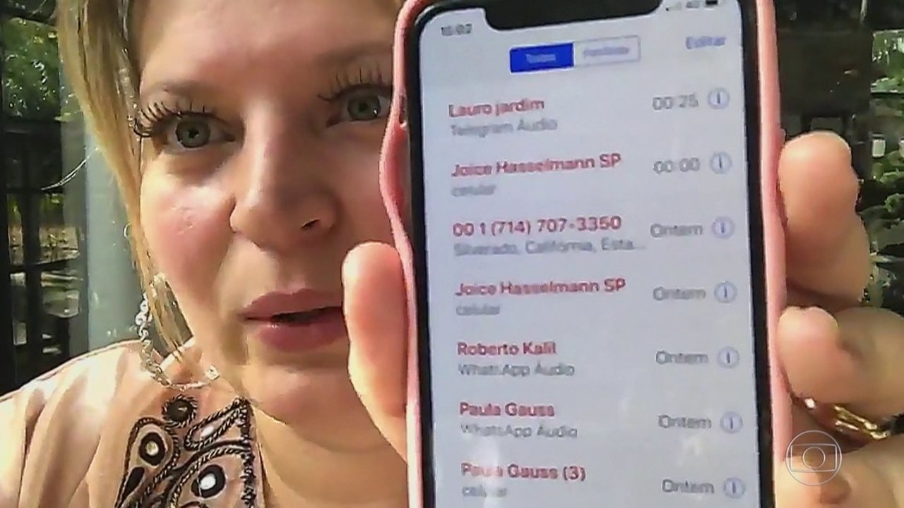 Joice Hasselmann, do PSL, diz que teve o celular clonado