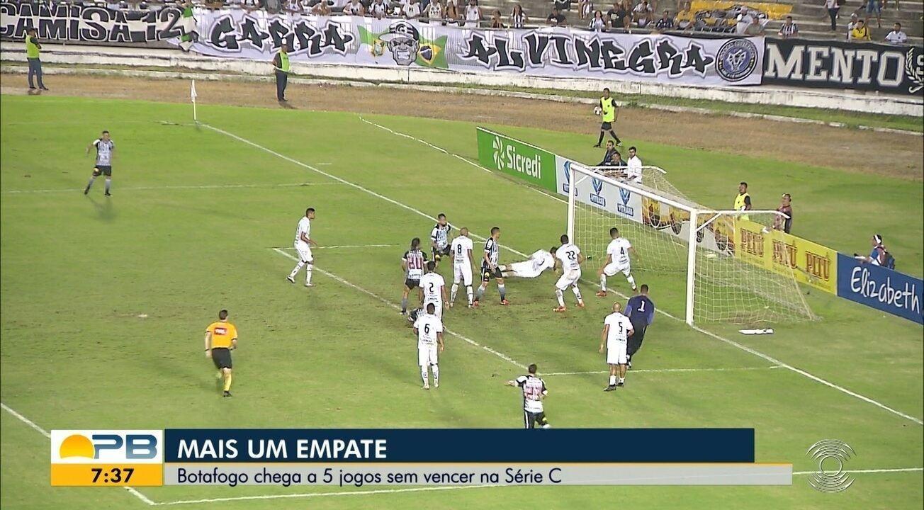 Veja como foi o empate entre Botafogo-PB e ABC, pela rodada #13 da Série C