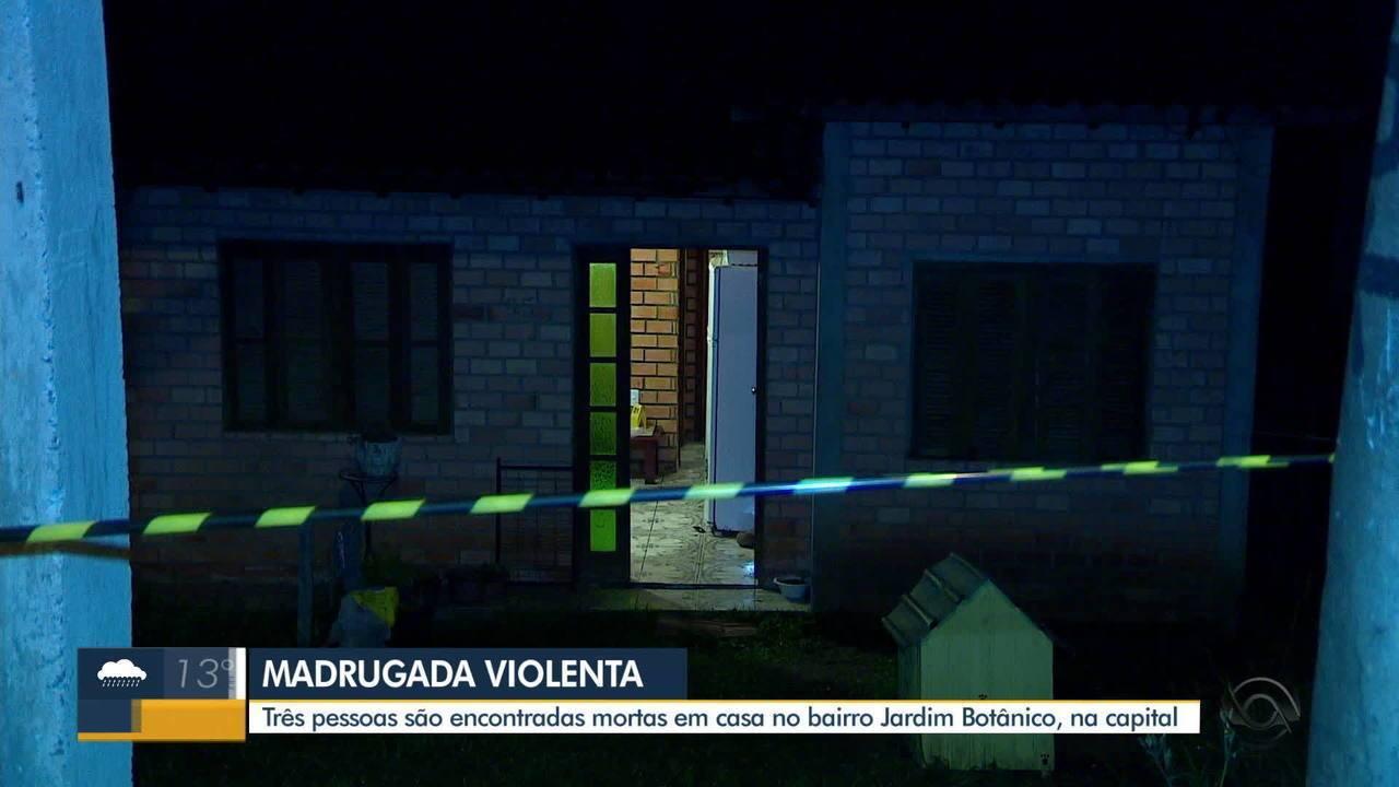 Três pessoas são encontradas mortas em casa no bairro Jardim Botânico