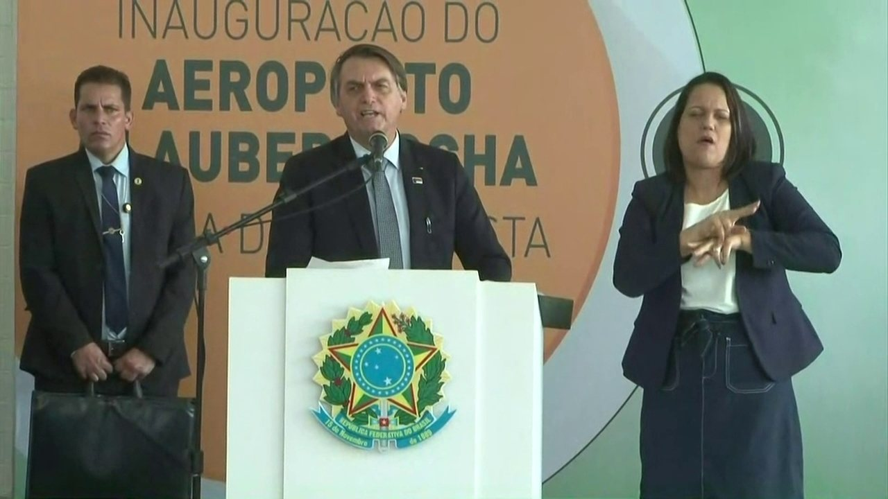 'Não estou em Vitória da Conquista, nem na Bahia; estou no Brasil', diz Bolsonaro