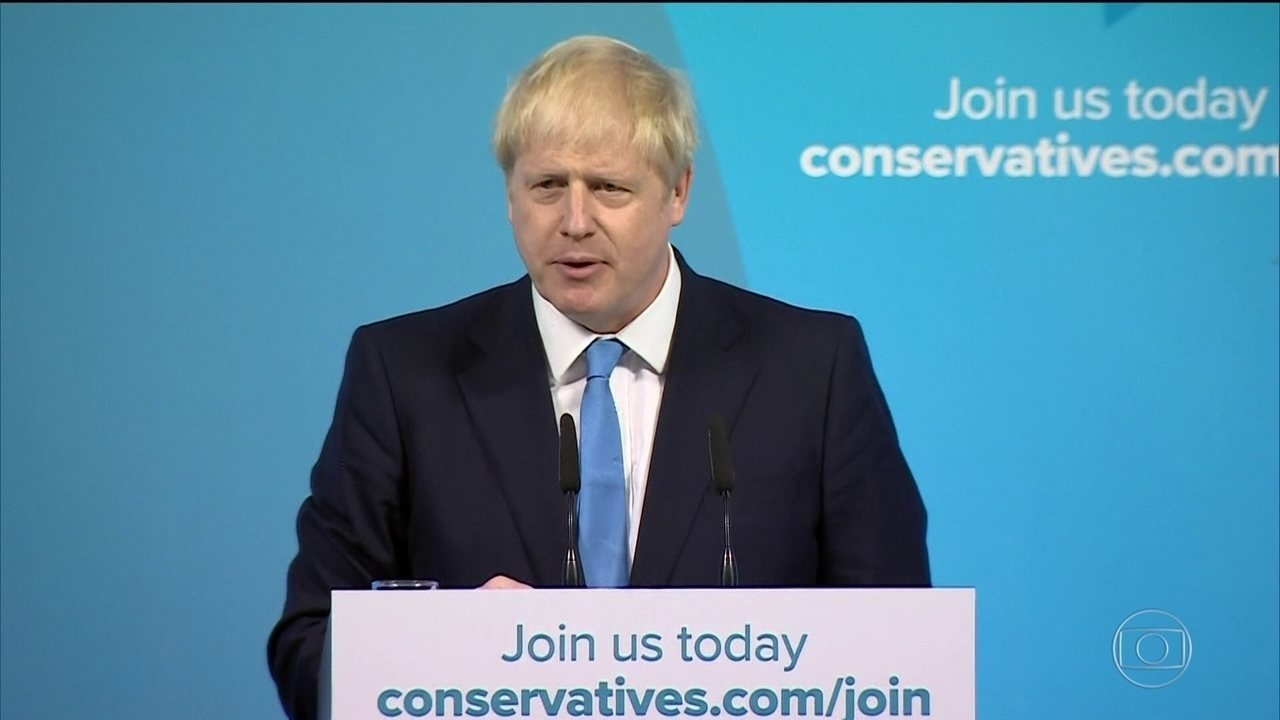 Boris Johnson é eleito primeiro-ministro do Reino Unido