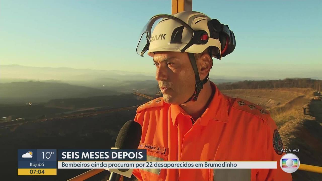 Bombeiros ainda procuram por 22 desaparecidos em Brumadinho