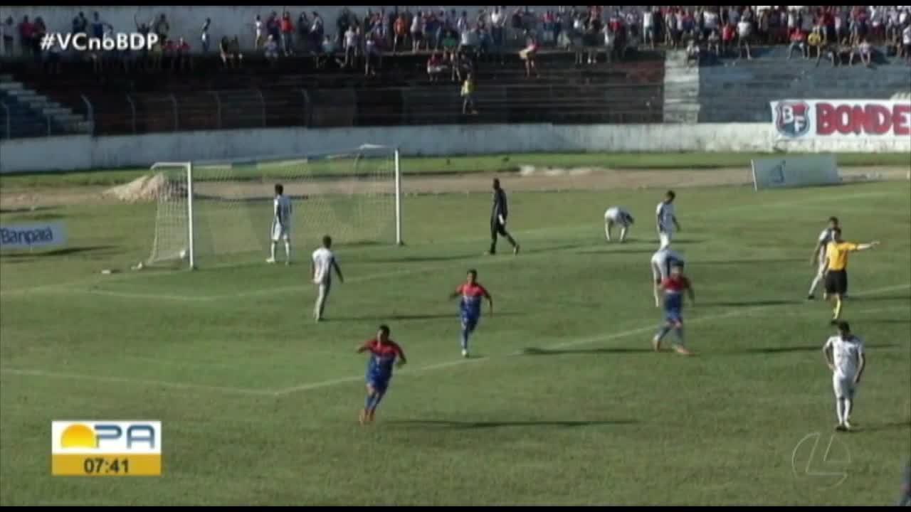 Bragantino 2 x 1 São Raimundo-RR: veja os melhores momentos da vitória do Tubarão