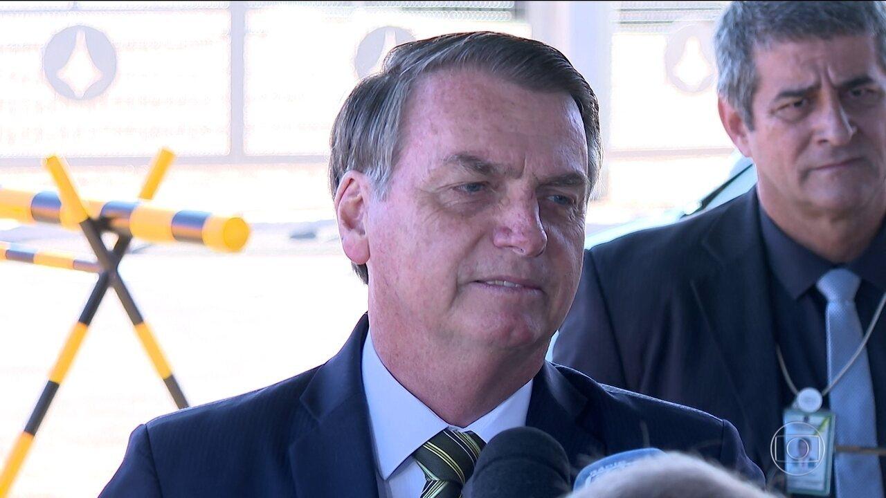 Bolsonaro chama de 'balela' documentos sobre mortos na ditadura
