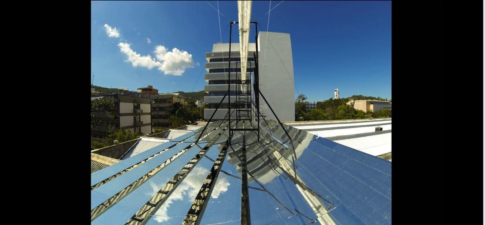Pesquisadores da UFSC desenvolvem mecanismo de rastreamento solar