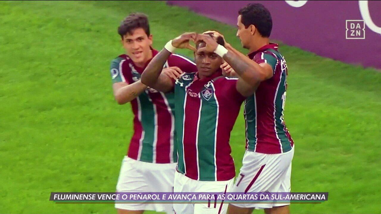Fluminense vence Peñarol mais uma vez e avança às quartas da Sul-Americana
