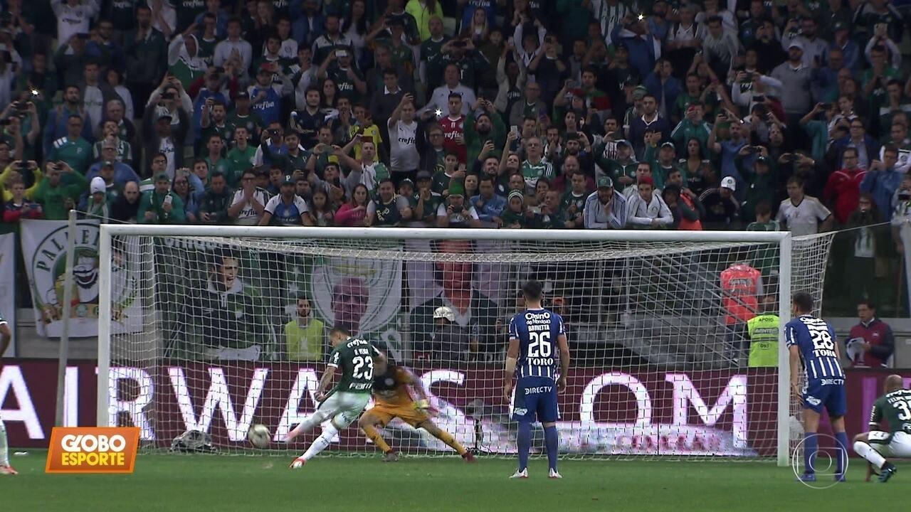 Palmeiras 4 x 0 Godoy Cruz: com goleada, Verdão chega às quartas de final da Libertadores