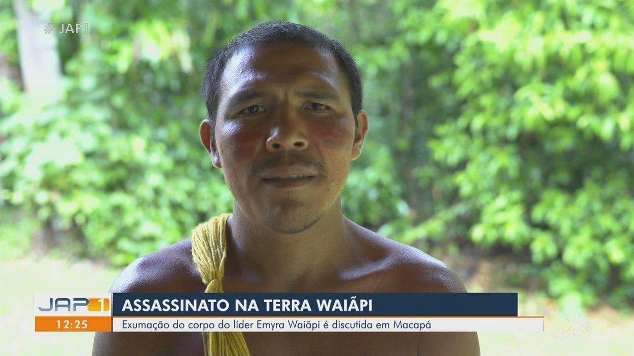 Exumação do corpo do líder Emyra Waiãpi é discutida em Macapá