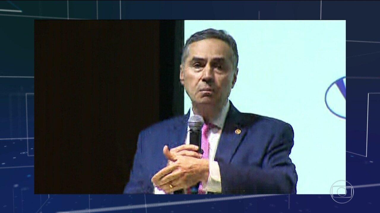 Ministro Barroso fala sobre caso dos hackers: 'Há mais fofocas do que casos relevantes'